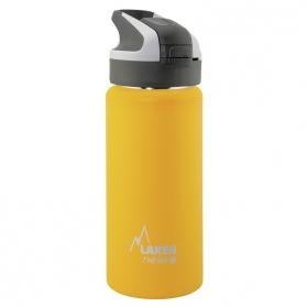 Laken Summit Therm botella térmica tapón automático 12H 0,5L Amarillo