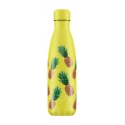 Chilly´s bottle piñas botella termo de acero inoxidable 500 ml