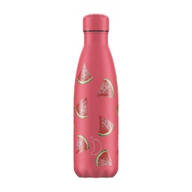 Chilly´s bottle sandías botella termo de acero inoxidable 500 ml
