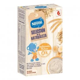 Nestlé cereales selección de la naturaleza multicereales plátano 330 g