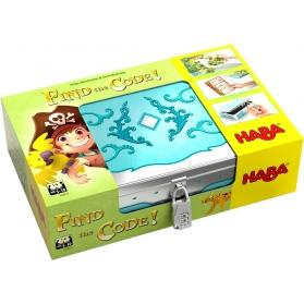 Haba Find the Code! Isla pirata REF.304839