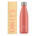 Chilly´s Bottle acero inoxidable Coral Pastel 500 ml