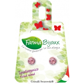 Farma Bijoux Pendientes Hipoalergénicos Xxiriux Rosa be65c14