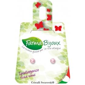 Farma Bijoux Pendientes HipoalergénicosPerla Rosaline PP4C294
