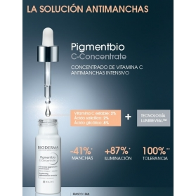 Bioderma pigmentbio c-concentrate sérum anti-manchas intensivo 30 ml