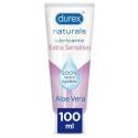 Durex naturals intimate lubricante extra sensible 100 ml
