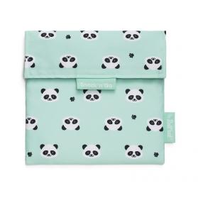 Roll'Eat Snack'N'Go Kids porta meriendas Ecológico Panda