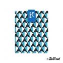 Rolleat bocngo porta bocadillos ecológico tiles azul