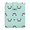 Rolleat bocngo kids porta bocadillos ecológico pandas