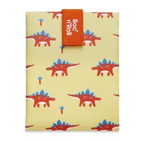 Rolleat bocngo kids porta bocadillos ecológico dinosaurios