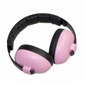 Banz auriculares protectores anti-ruido para bebés 0-2 años color rosa