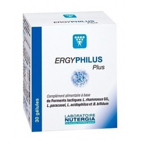 Nutergia Ergyphilus Plus probiótico 30 cápsulas