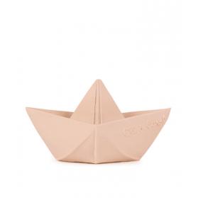 Oli and Carol Origami Boat Nude juguete de baño caucho Natural 100 % Hevea Ecológico