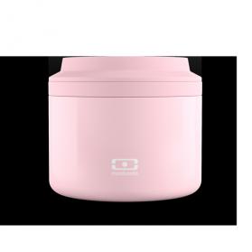 Monbento termo inox + infusor 500 ml color rosa pastel