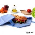 Roll' Eat Boc'N' Go porta bocadillos Ecológico Azul