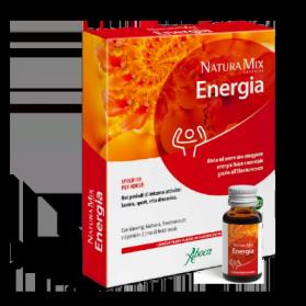 Aboca natura mix advanced energía concentrado 10 frascos