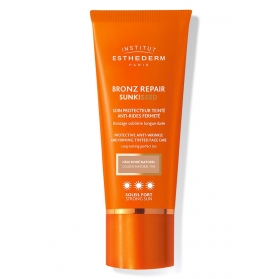 Esthederm Bronz Repair SunKiss 3 soles crema antiarrugas con color 50 ml
