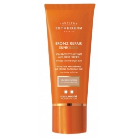 Esthederm Bronz Repair SunKiss 2 soles crema antiarrugas con Color 50 ml