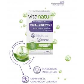 Vitanatur vital energy+ 120 cápsulas