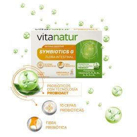 Vitanatur simbiotics g probiótico flora intestinal 14 sobres