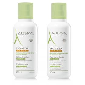 A-Derma Exomega Control crema emoliente DUPLO 2x400 ml