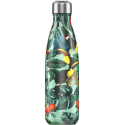 Chilly´s bottle tropical tucán botella termo de acero inoxidable 500 ml