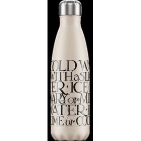 Chilly´s bottle emma bridgewater toast botella termo de acero inoxidable 500 ml