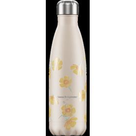 Chilly´s bottle emma bridgewater buttercups botella termo de acero inoxidable 500 ml