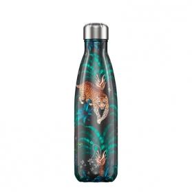 Chilly's Bottle Tropical Leopardo botella termo de acero inoxidable 750 ml