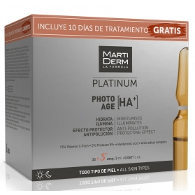 Martiderm pack photo-age 50+ 30+5 ampollas gratis