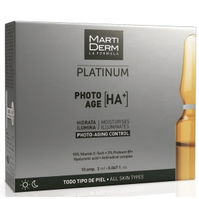 Martiderm Photo-Age HA+ Platinum 10 ampollas