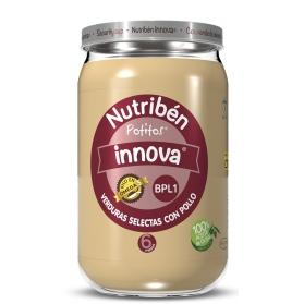 Nutribén Innova verduras selectas con pollo 250 g