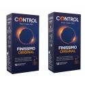 Control Finissimo DUPLO 2x12 preservativos