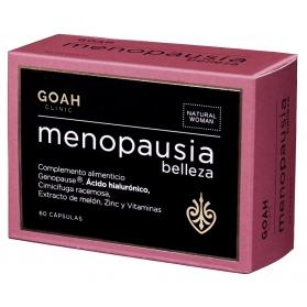 Goah clinic menopausia 60 cápsulas con hialurónico y cimicífuga