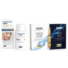 Isdinceutics rutina antimanchas spot prevent  50 ml + pigment expert + night peel