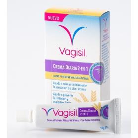 Vagisil crema Diaria 2 en 1 15 gr con Avena Prebiótica