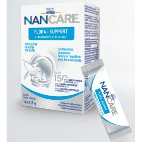Nan care flora support 14 sobres