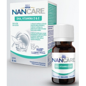 Nan care dha vitamina d & e  gotas 8 ml