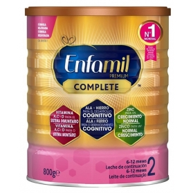 Enfamil 2 Complete Premium 800 gr leche infantil de continuación