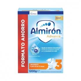 Almirón 3 Advance Pronutra NUEVA FÓRMULA 1200 gr FORMATO AHORRO