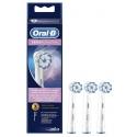 Oral b sensi ultra thin recambio para cepillo eléctrico 3+1 recambios