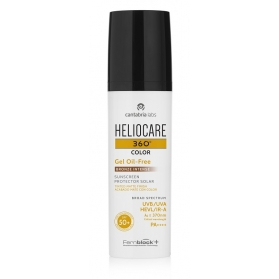 Heliocare 360º SPF 50+ Color gel oil-free tono Bronze Intense 50 ml