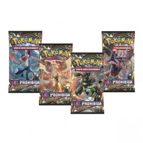 Pokémon Sol y Luna Luz Prohibida 1 sobre Original en Castellano