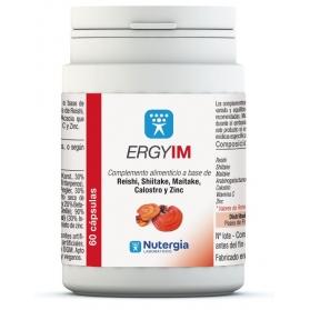 Nutergia ErgyIm 60 cápsulas con Reishi, Shitake, Maitake, Calostro y ZInc