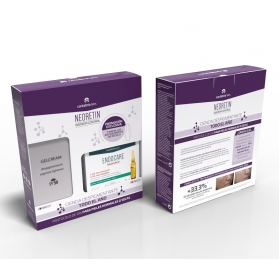 Neoretin Discrom Control gel crema SPF 50 40ml + Endocare C Oil Free 7 ampollas de 1 ml