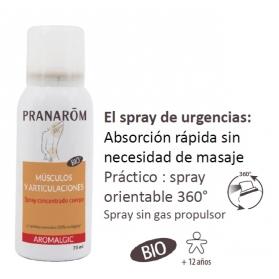 Aromalgic Músculos y Articulaciones spray concentrado BIO 75 ml