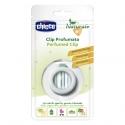 Chicco clip Antimosquitos Perfumado con Menta, Geranio y Lavanda Naranja