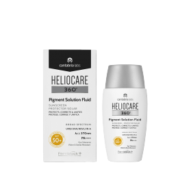 Heliocare 360º Pigment Solution Fluid SPF50+ 50 ml con Ácido Elágico y Niacinamida