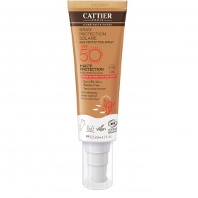 Cattier protector solar spray spf50 125 ml