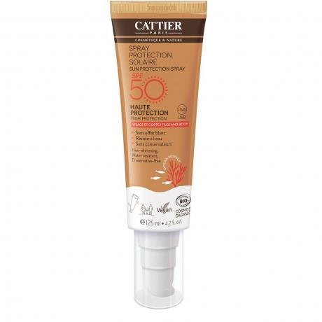 Cattier protector solar spray spf50 125 ml